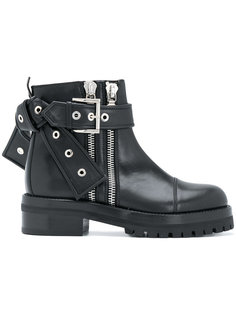 байкерские ботинки Alexander McQueen