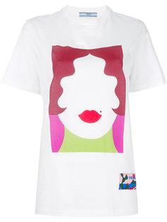 футболка с принтом Prada