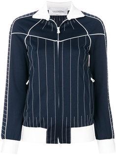 куртка с полосатым принтом  Valentino