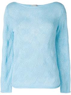 свитер ажурной вязки Etro