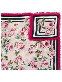 шарф с комбинированным принтом Dolce & Gabbana