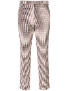 укороченные брюки с вышивкой Etro
