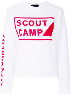 джемпер Scout Camp Dsquared2