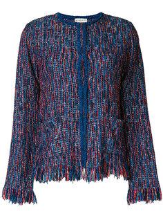твидовый пиджак с бахромой  Etro