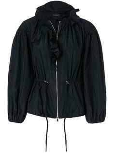 куртка-бомбер с оборкой  Giambattista Valli