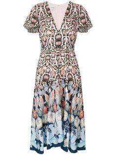 платье с принтом  Temperley London