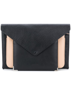 клатч-конверт дизайна колор-блок Maison Margiela