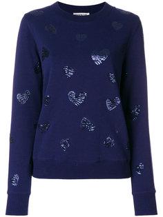 Embellished cotton blend Paname sweatshirt Essentiel Antwerp