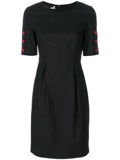 платье с присборенной талией Love Moschino