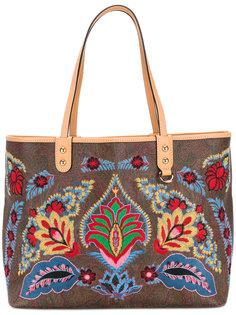 сумка-тоут с вышивкой Etro