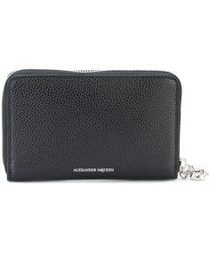 континентальный кошелек с застежкой-молнией Alexander McQueen