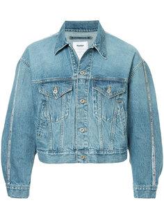 укороченная джинсовая куртка Doublet
