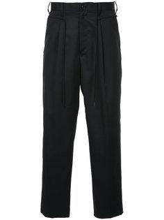 укороченные брюки Doublet