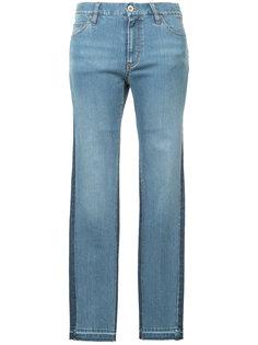 двухцветные джинсы кроя слим Muveil