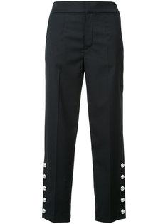 укороченные брюки с отделкой Muveil