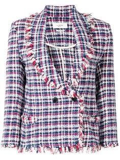 твидовый пиджак с бахромой Isabel Marant Étoile