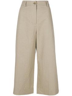 широкие брюки  с завышенной талией Kenzo