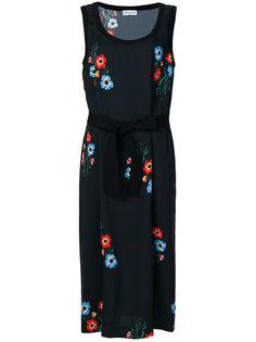 платье с цветочным принтом Sonia Rykiel