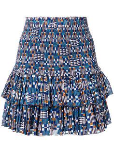 мини-юбка с орнаментом Isabel Marant Étoile