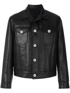 кожаная куртка Neil Barrett