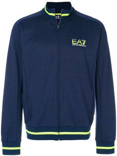 zipped logo sweatshirt Ea7 Emporio Armani