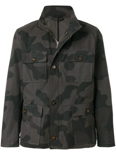 легкая куртка с камуфляжным узором Eleventy