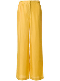 расклешенные брюки с высокой талией Alberta Ferretti