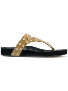 сандалии с люверсами Elbry Isabel Marant