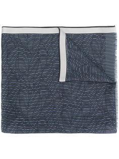 шарф в полоску Giorgio Armani