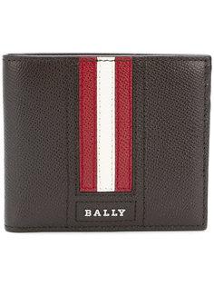 кошелек с полосками  Bally