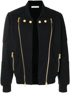 куртка-бомбер с двухсторонней застежкой-молнией Pierre Balmain