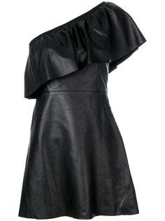 платье на одно плечо  A.L.C.