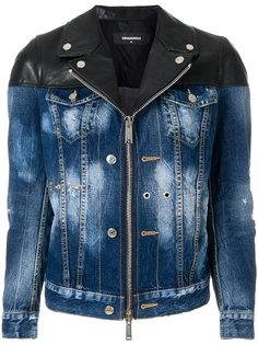 куртка с комбинированным дизайном Dsquared2