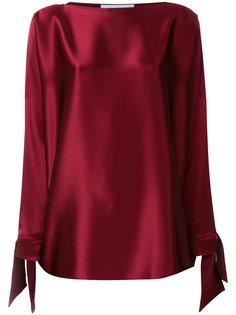 блузка с манжетами на завязках  Gianluca Capannolo