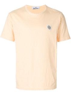 футболка с нашивкой логотипа Stone Island