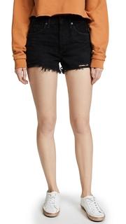 AGOLDE Parker Vintage Loose Fit Cut Off Shorts