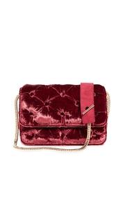 Benedetta Bruzziches Velvet Carmen Shoulder Bag
