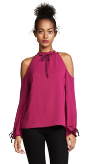 Cooper & Ella Cold Shoulder Blouse