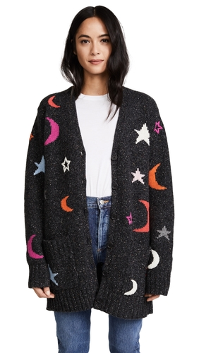 Chinti and Parker Midnight Sky Boyfriend Cardigan