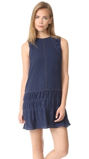 Chloe Oliver Crinkle Texture Mini Dress