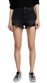 Denim x Alexander Wang Hybrid Bite Shorts