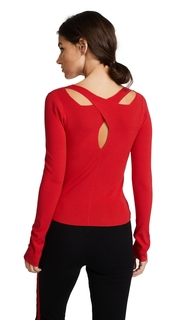 Edition10 Crossed Neck Sweater