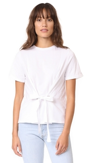 ENGLISH FACTORY Eyelet Tie Tee