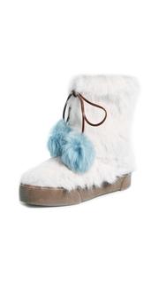 Frances Valentine Samantha Fur Boots