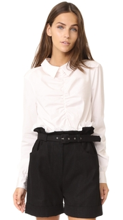 Isa Arfen Gathered Shirt
