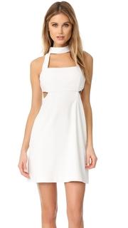 Jill Jill Stuart Halter Cutout Mini Dress