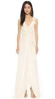 Joanna August Lacey Ruffle Wrap Dress