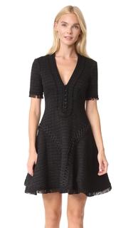 Jonathan Simkhai Polished Tweed Corded Dress