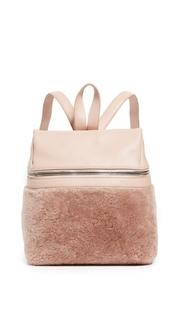 KARA Small Shearling Waist Bag
