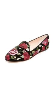 Kate Spade New York Swinton Floral Slip On Flats